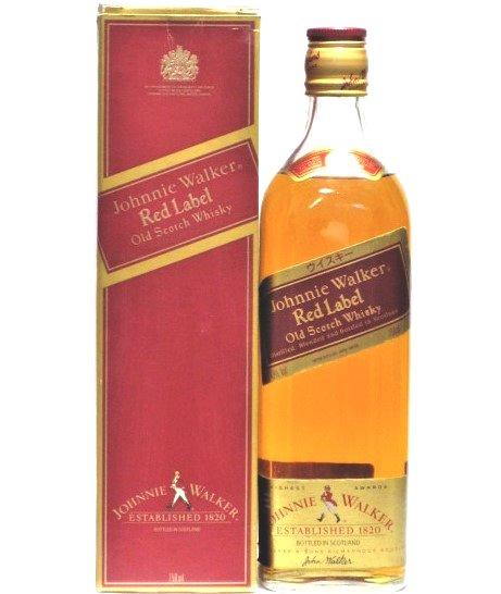 [古酒] ジョニーウォーカー レッドラベル 正規品 43度 750ml