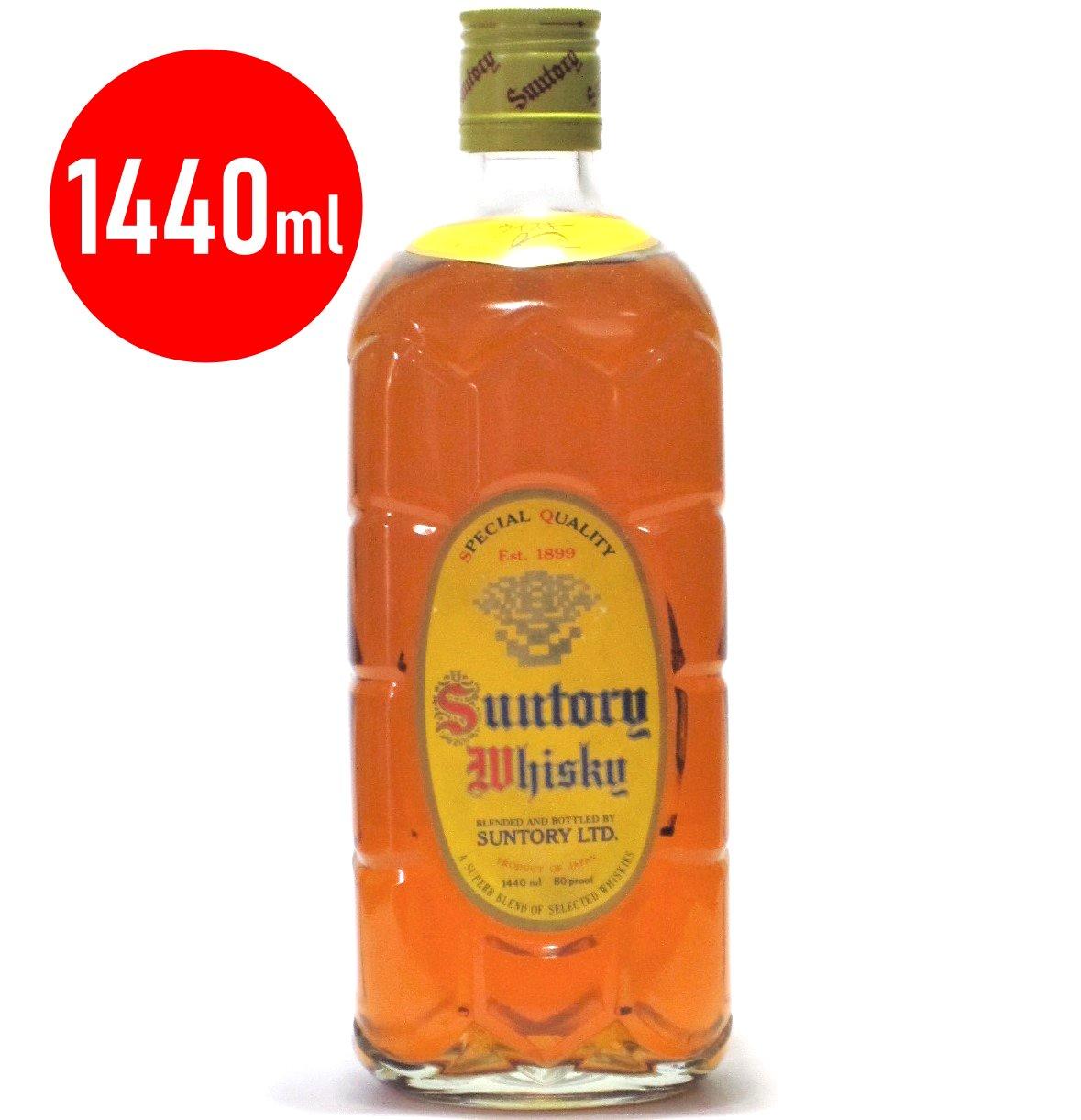 [古酒] サントリーウイスキー 角瓶 ダブルサイズ 40度 1440ml