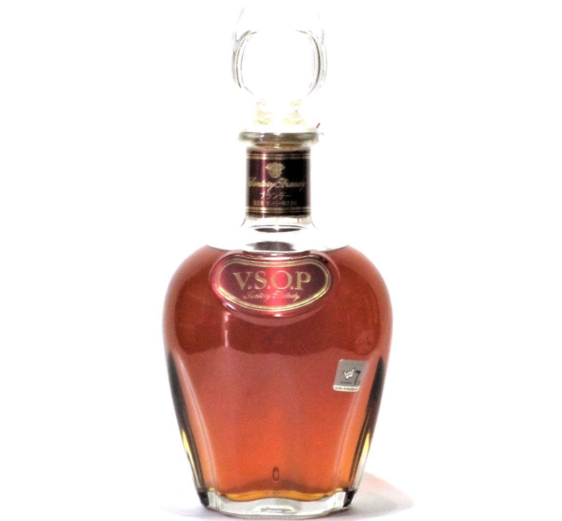 [古酒] サントリーブランデー VSOP デキャンタ 40度 720ml