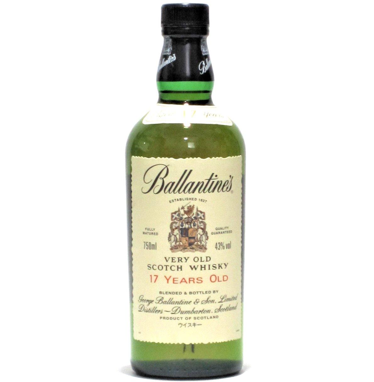 [古酒] [送料無料] バランタイン 17年 正規品 箱付き 43度 750ml