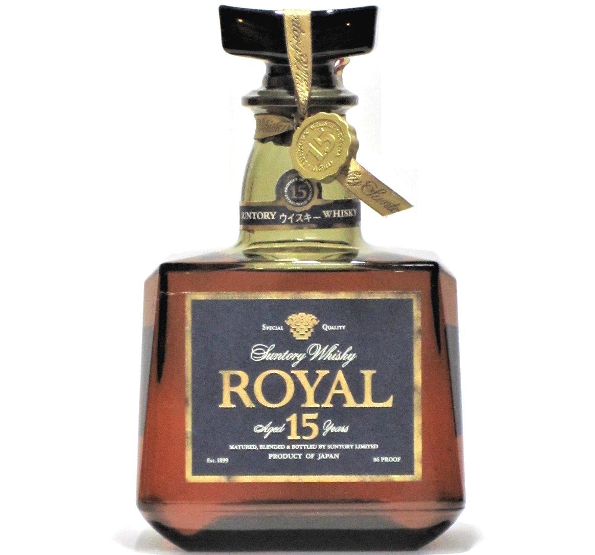 [古酒] [送料無料] サントリーウイスキー ローヤル プレミアム 15年 ブルーラベル 43度 700ml