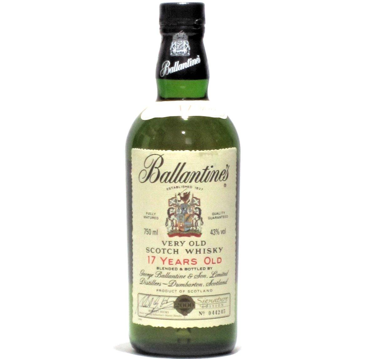 [古酒] バランタイン 17年 2000年 ミレニアム 限定ボトル 正規品 43度 750ml