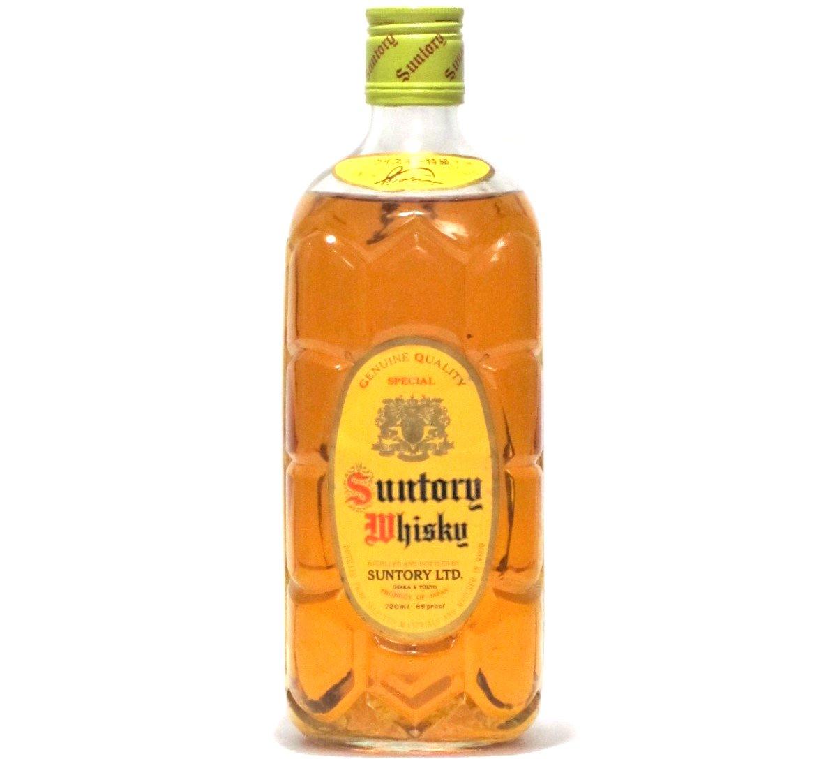 [古酒] サントリーウイスキー 角瓶 特級表示 43度 720ml