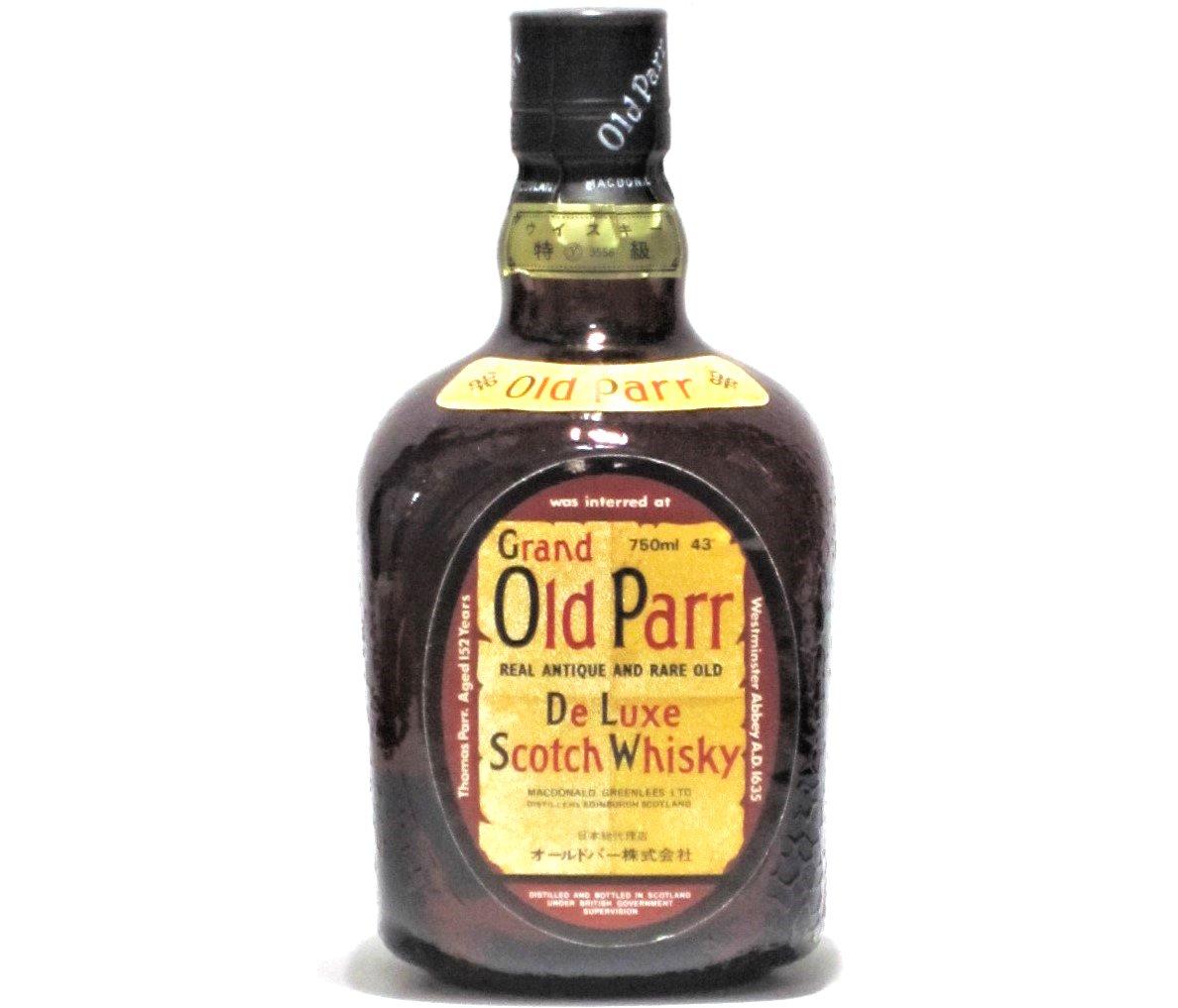 [古酒] オールドパー 特級表示 正規品 43度 750ml