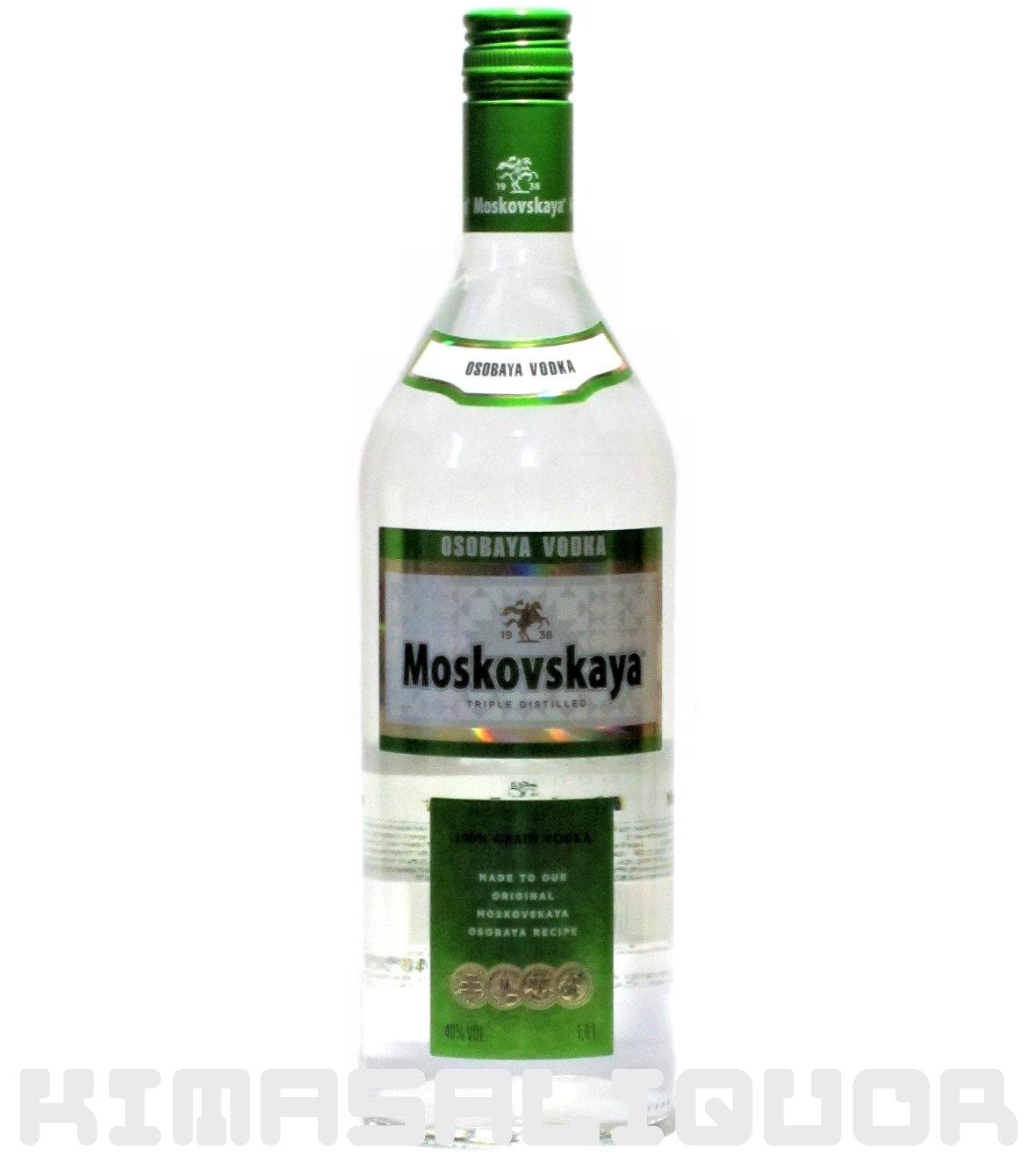 モスコフスカヤ 40度 1000ml (1L)