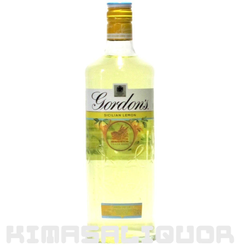 ゴードンジン シチリアレモン 37.5度 700ml