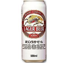 キリン ラガー 500ml缶 ※送料無料対象外