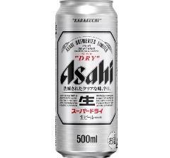アサヒ スーパードライ 500ml缶 ※送料無料対象外