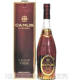 [古酒] カミュ VSOP 正規品 (旧ボトル) 40度 700ml ※箱ダメージあります。