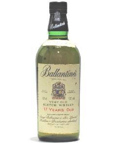 [古酒] バランタイン 17年 正規品 (旧ボトル) 43度 750ml