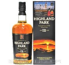 [古酒] ハイランドパーク 12年 正規品 43度 750ml