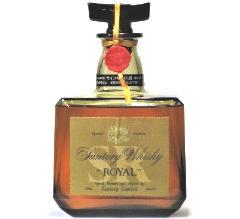 [古酒] サントリーウイスキー ローヤル 特級表示 箱付き 43度 720ml ※キャップ不具合のため漏れあり