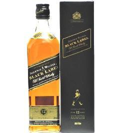 [古酒] ジョニーウォーカー ブラックラベル 12年 正規品 40度 700ml
