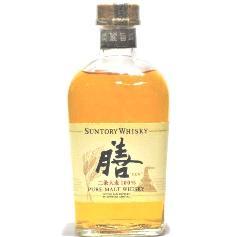 [古酒] サントリー ピュアモルトウイスキー 膳 ZEN 40度 640ml