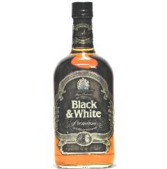 [古酒] ブラック&ホワイト プレミアム 特級表示 正規品 43度 750ml