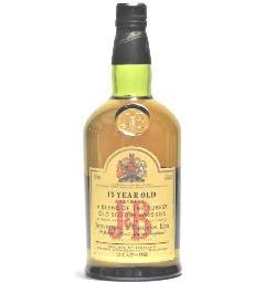 [古酒] J&B 15年 特級表示 正規品 43度 750ml
