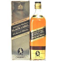 [古酒] ジョニーウォーカー ブラックラベル 特級表示 正規品 箱付き 43度 750ml