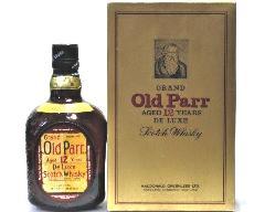 [古酒] オールドパー 12年 特級表示 正規品 箱付き 43度 750ml