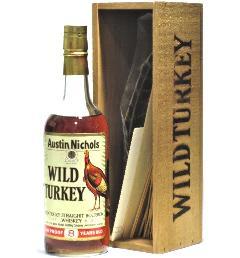 [古酒] ワイルドターキー 8年 特級表示 正規品 木箱付き 50.5度 750ml