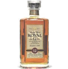 [古酒] サントリーウイスキー ローヤル 12年 スリムボトル 40度 660ml