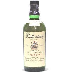 [古酒] バランタイン 17年 特級表示 正規品 43度 750ml ※ラベルに傷あります