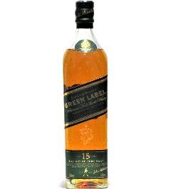 [古酒] ジョニーウォーカー グリーンラベル 15年 正規品 43度 700ml