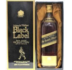 [古酒] ジョニーウォーカー ブラックラベル 正規品 特級表示 43度 750ml