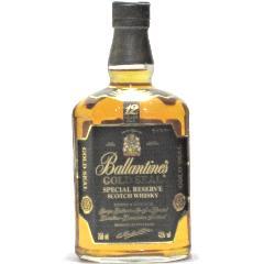 [古酒] バランタイン 12年 ゴールドシール 正規品 43度 750ml