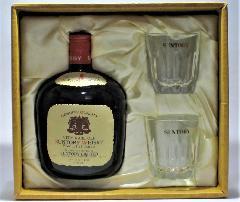 [古酒] サントリーウイスキー オールド 特級表示 グラス付き ギフトセット 43度 760ml