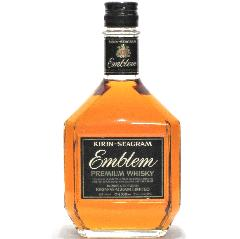 [古酒] キリン シーグラム エンブレム 43度 750ml