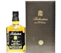 [古酒] バランタイン 12年 ゴールドシール デラックス 特級表示 正規品 43度 750ml