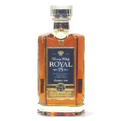 [古酒] サントリーウイスキー ローヤル 15年 スリムボトル 40度 660ml