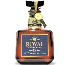 [古酒] サントリーウイスキー ローヤル プレミアム 12年 ブルーラベル 箱付き 43度 720ml
