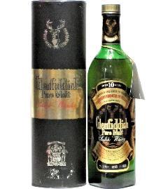 [古酒] グレンフィディック ピュアモルト 10年 特級表示 正規品 箱付き 43度 760ml