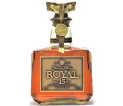 [古酒] サントリーウイスキー ローヤル 15年 ゴールドラベル 43度 750ml