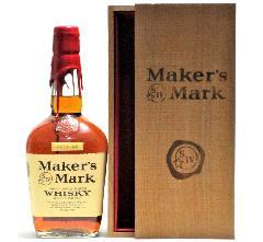 [古酒] メーカーズマーク レッドトップ 特級表示 正規品 木箱付き 45度 750ml