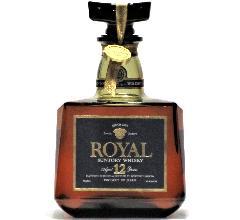 [古酒] サントリーウイスキー ローヤル プレミアム 12年 ブルーラベル 43度 720ml