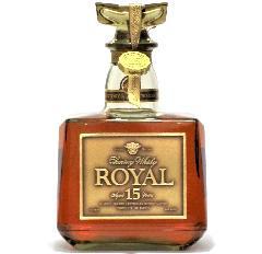 [古酒] サントリーウイスキー ローヤル 15年 ゴールドラベル クリアボトル 43度 750ml