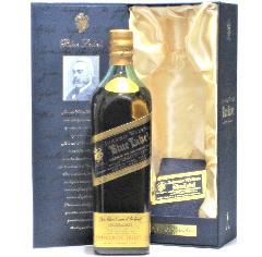 [古酒] ジョニーウォーカー ブルーラベル 正規品 旧ボトル 箱付き 43度 750ml