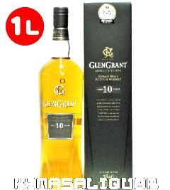 グレングラント 10年 箱付き 40度 1000ml (1L)