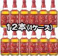 京都ウイスキー 西陣織 赤帯 40度 700ml 12本セット