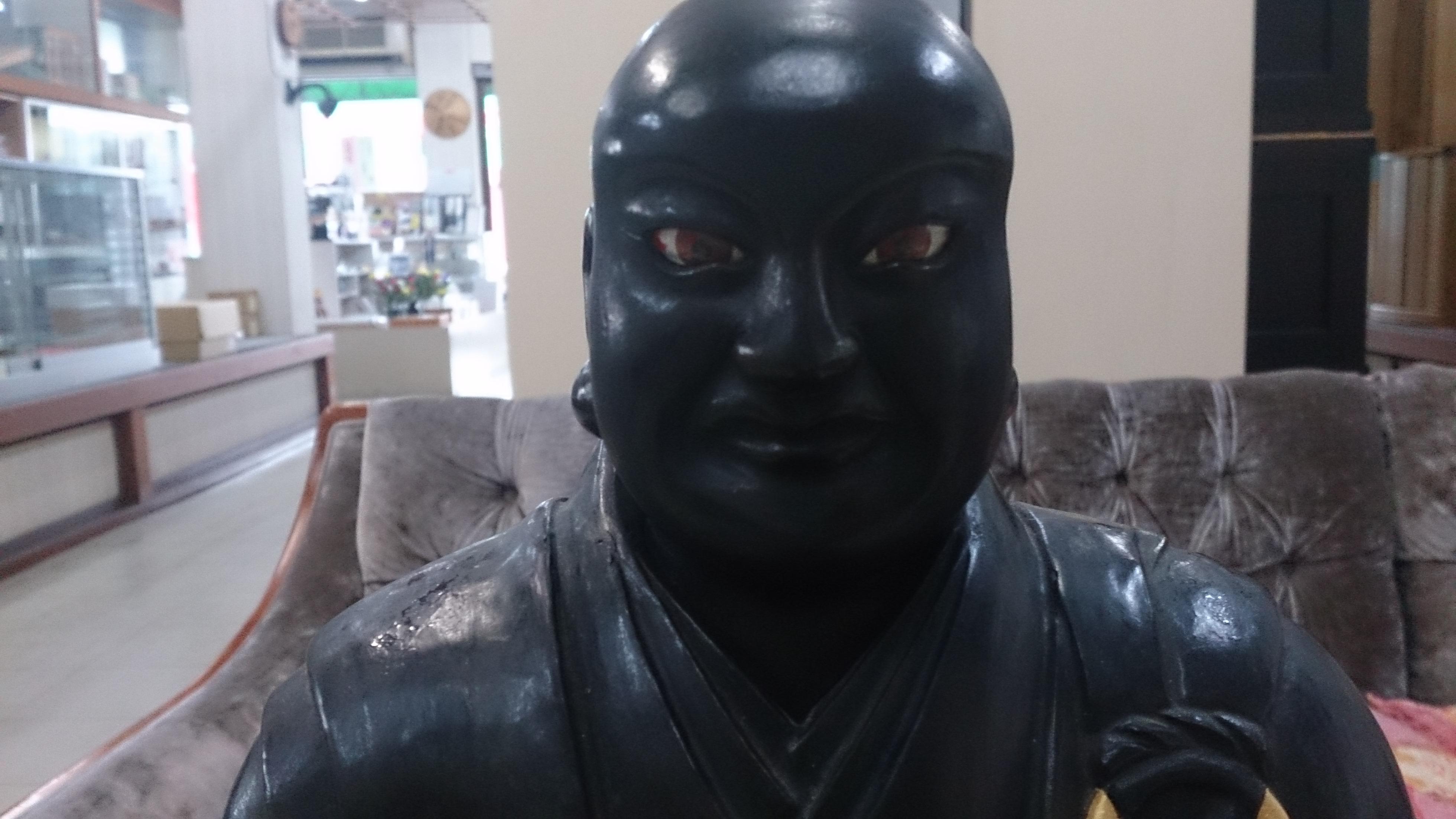 修復後の御仏像
