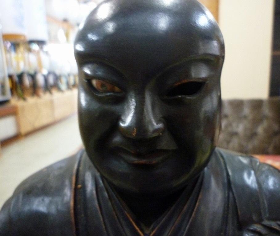 修復前の御仏像