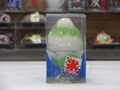 故人の好物シリーズ かき氷キャンドル メロン ろうそく