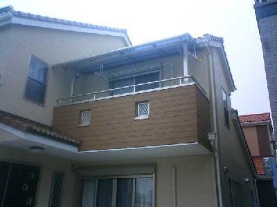 直線タイプポリカ屋根