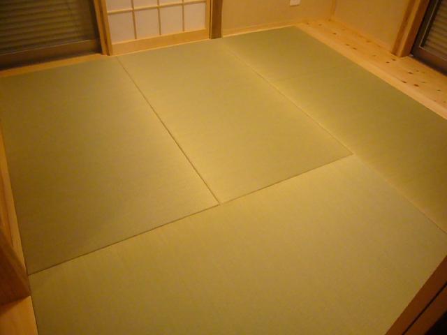 目積表 縁なし畳