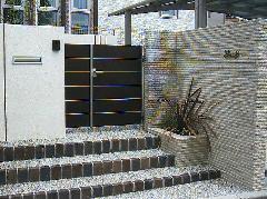 玄関 外構デザイン施工例