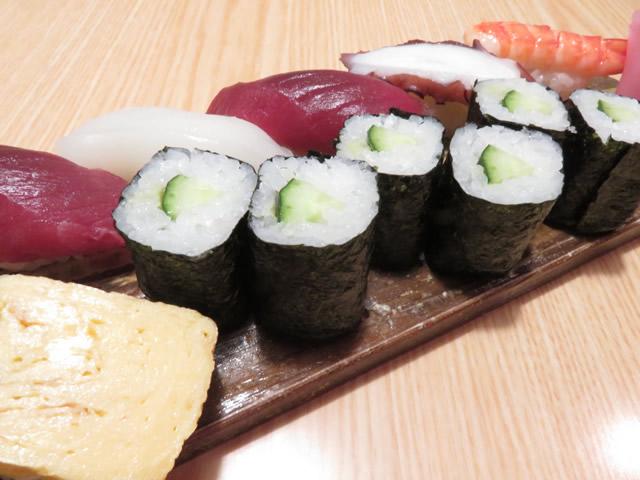 並寿司(6貫1本)・・・1,000円