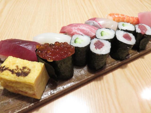 上寿司(7貫1本)・・・1,500円