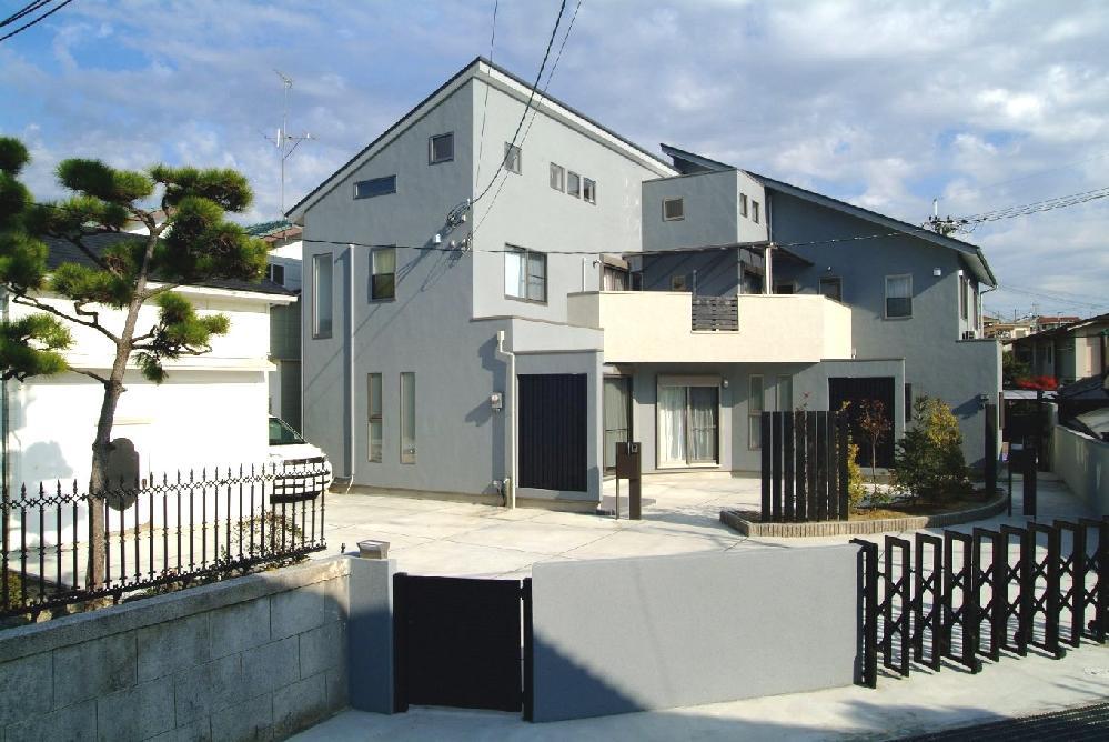 茨木市の新築注文住宅です